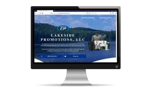 Lakeside Promotions Website Redesign