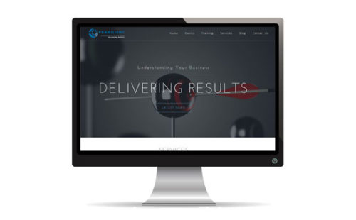 Praxilient Inc Website | JCD Promotions Portfolio